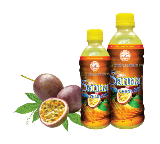Nước chanh dây Sanna chai